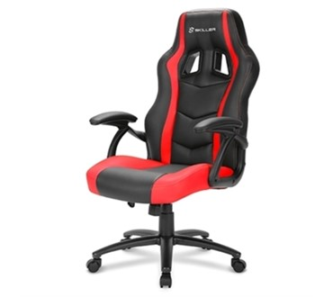 STOLICA SHARKOON SHARK SKILLER SGS1 GAMING BK/RD, BLACK/RED