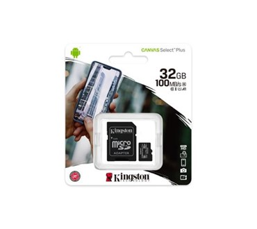 KINGSTON MEMORIJSKA KARTICA MICRO SD 32GB CANVAS PLUS + ADP