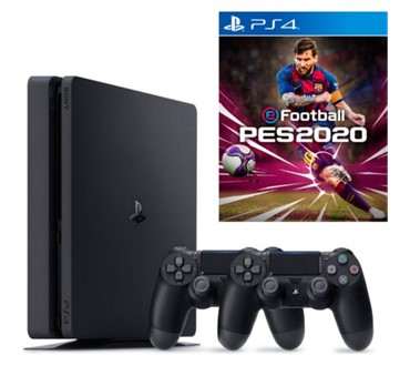 PLAYSTATION 4 SLIM 500 GB + PES 2020 + DS4