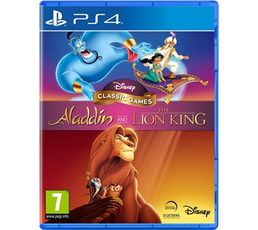 DISNEY CLASSIC GAMES PS4