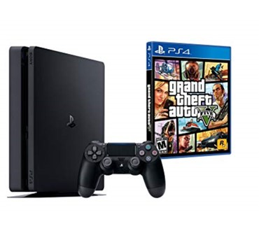 PLAYSTATION 4 SLIM 500 GB + GTA V PS4