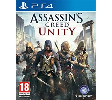 ASSASSIN S CREED UNITY STANDARD EDITION PS4