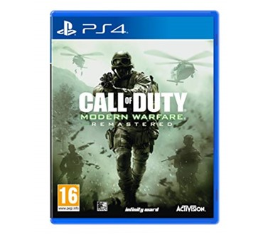 CALL OF DUTY: MODERN WARFARE REMASTERED STANDALONE PS4