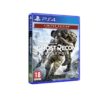 TOM CLANCYS GHOST RECON BREAKPOINT LIMITED EDITION PS4