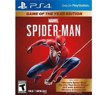 MARVEL SPIDERMAN GOTY PS4
