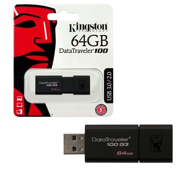 USB MEMORIJA KINGSTON 64GB DT100G3