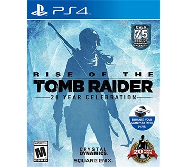 RISE OF THE TOMB RAIDER 20TH ANNIVERSSARY PS4