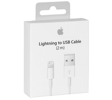 APPLE IPHONE LIGHTNING CABLE 2M