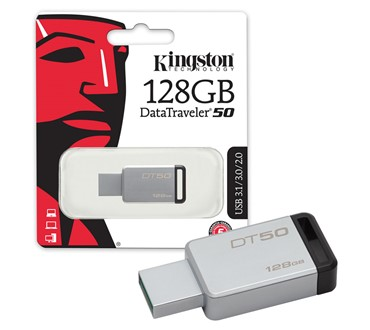 KINGSTON USB MEMORIJA DT50 128GB USB 3.1