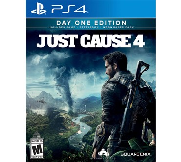 JUST CAUSE 4 (STEELBOOK + NEON RACER DLC) PS4