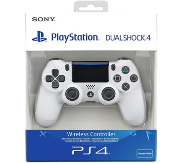 PS4 DUALSHOCK CONTROLLER WHITE