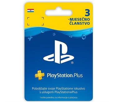 PLAYSTATION PLUS CARD 90 DAYS HR