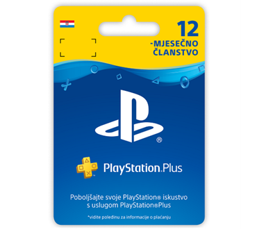 PLAYSTATION PLUS 365 DAYS HR