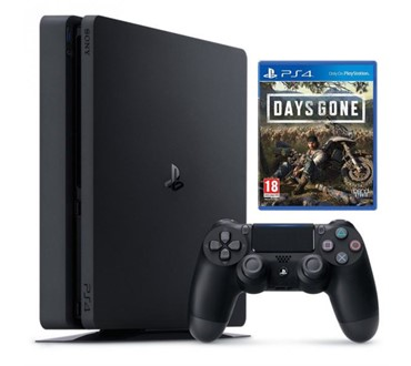 PLAYSTATION 4 500GB F CHASSIS BLACK + DAYS GONE PS4