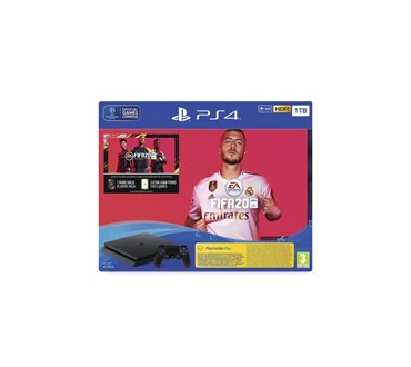 PLAYSTATION 4 1TB + FIFA 20 + FUT 20 VCH + PS PLUS 14 DAYS