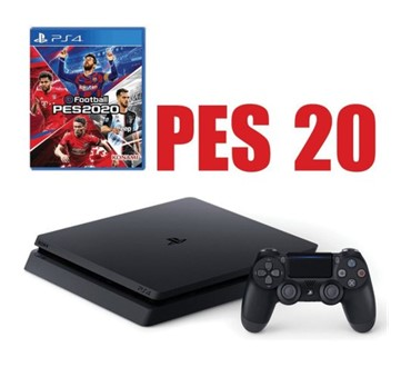 PLAYSTATION 4 SLIM 500 GB + PES 2020