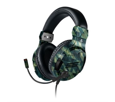 BIGBEN PS4 STEREO GAMING SLUŠALICE V3 CAMO GREEN