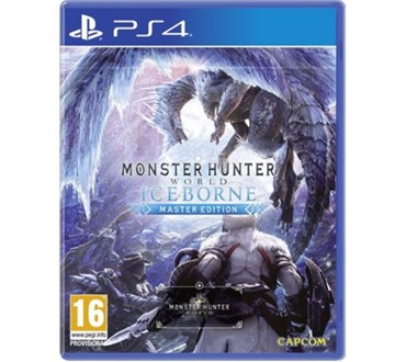 MONSTER HUNTER WORLD ICEBORN PS4