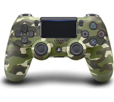 PS4 DUALSHOCK V2 GREEN CAMO