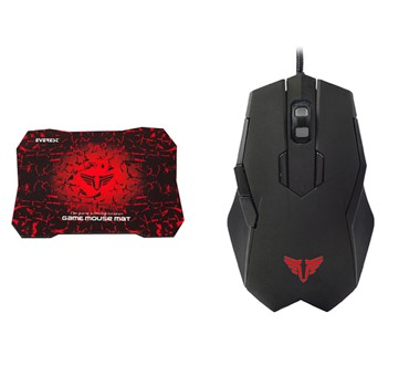 EVEREST SGM-X77 USB GAMING MIŠ SA PODLOGOM 2400 DPI USB